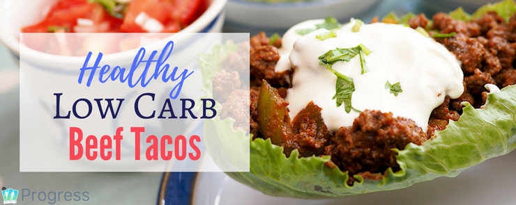 Try these delicious low carb beef tacos - this recipe is easily adaptable for LCHF, slow carb, keto and paleo