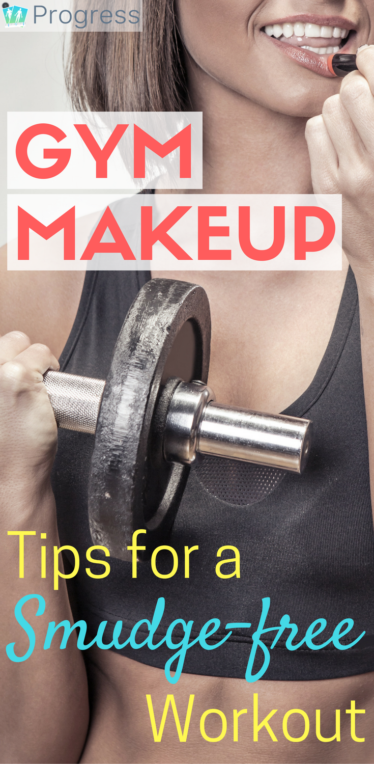 Is it Ok to wear makeup to the gym? OF COURSE! IBut it's wise to make some smart choices to avoid breakouts and mascara smudge. It's all laid out here.