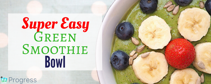 Whip up this easy green smoothie bowl recipe in minutes - perfect for breakfast or brunch