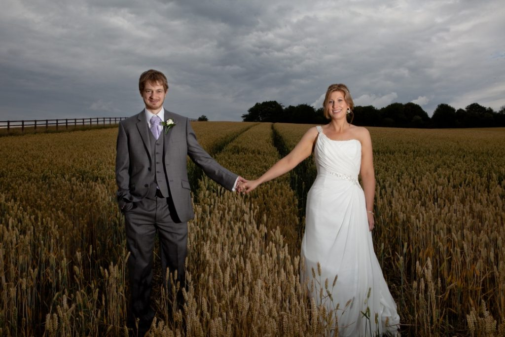 Weight-loss progress Lewis & Jen Smith - wedding picture