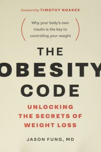 The Obesity Code, Jason Fung MD - the book that helped BJ get back on track
