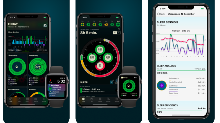 ©AutoSleep: sleep analysis - health & fitness app