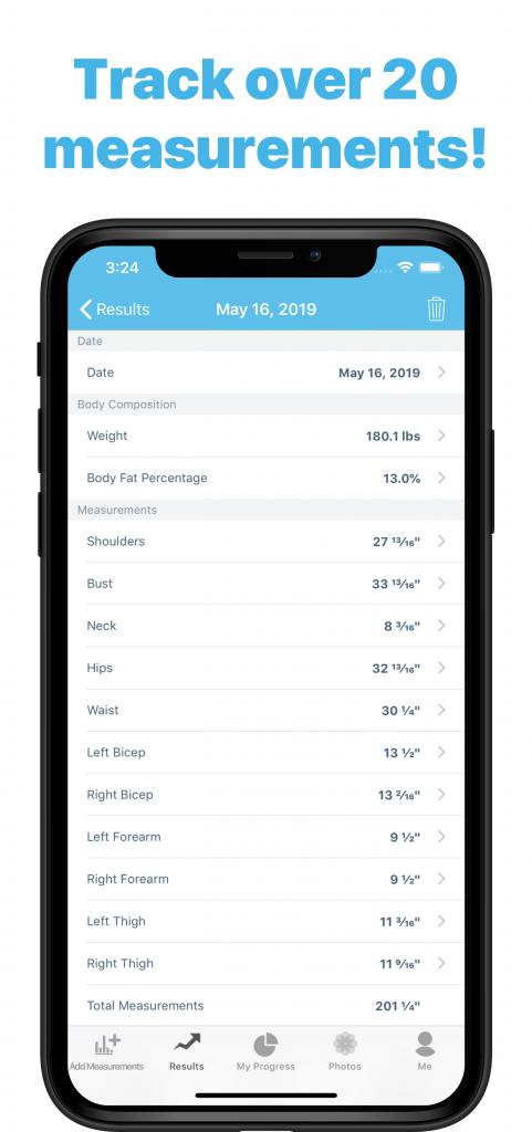 Result details screenshot